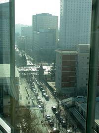 Beijing apt view