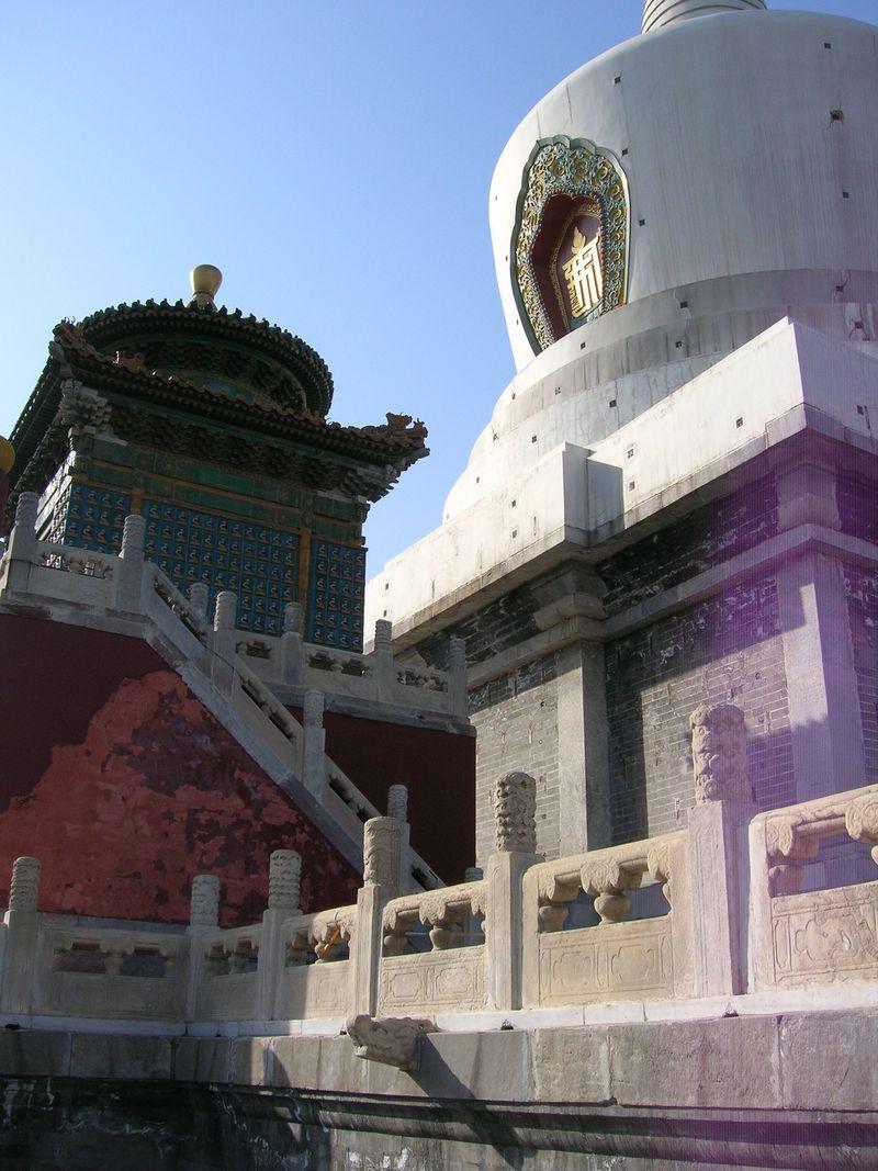 White Dagoba, Bei Hai Park, Beijing