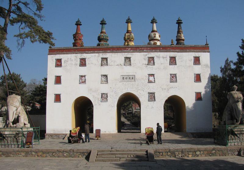 Tibetan chinese temple 2