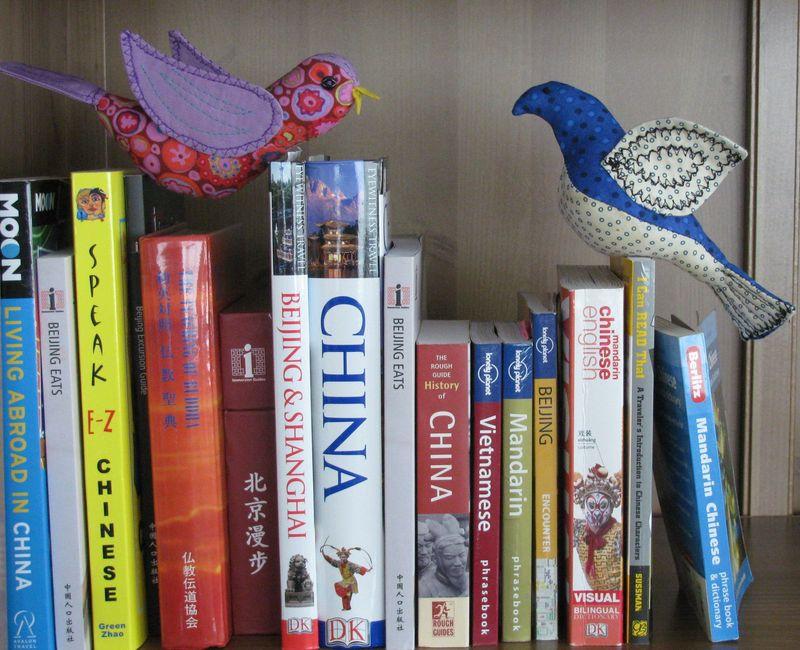 Birds on books 3