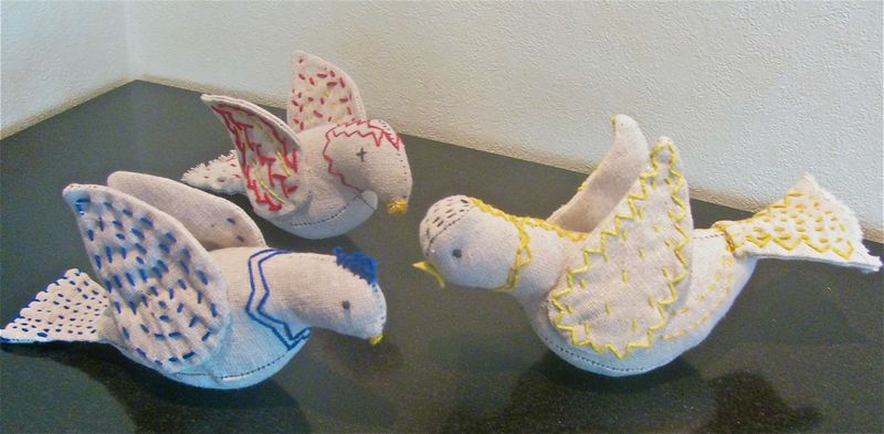 Finished muslin birds 2