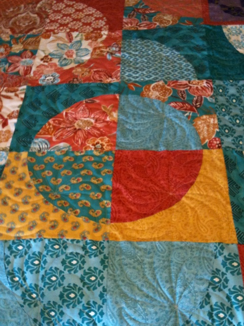 Alone In The Studio Quilting