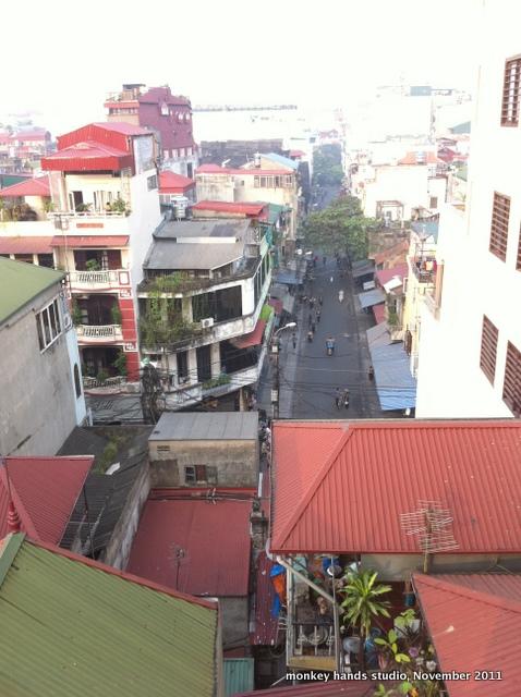 Hanoi street view 2 first day