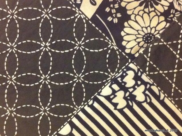 Sashiko detail