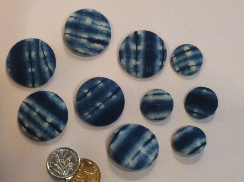 Buttons with coins